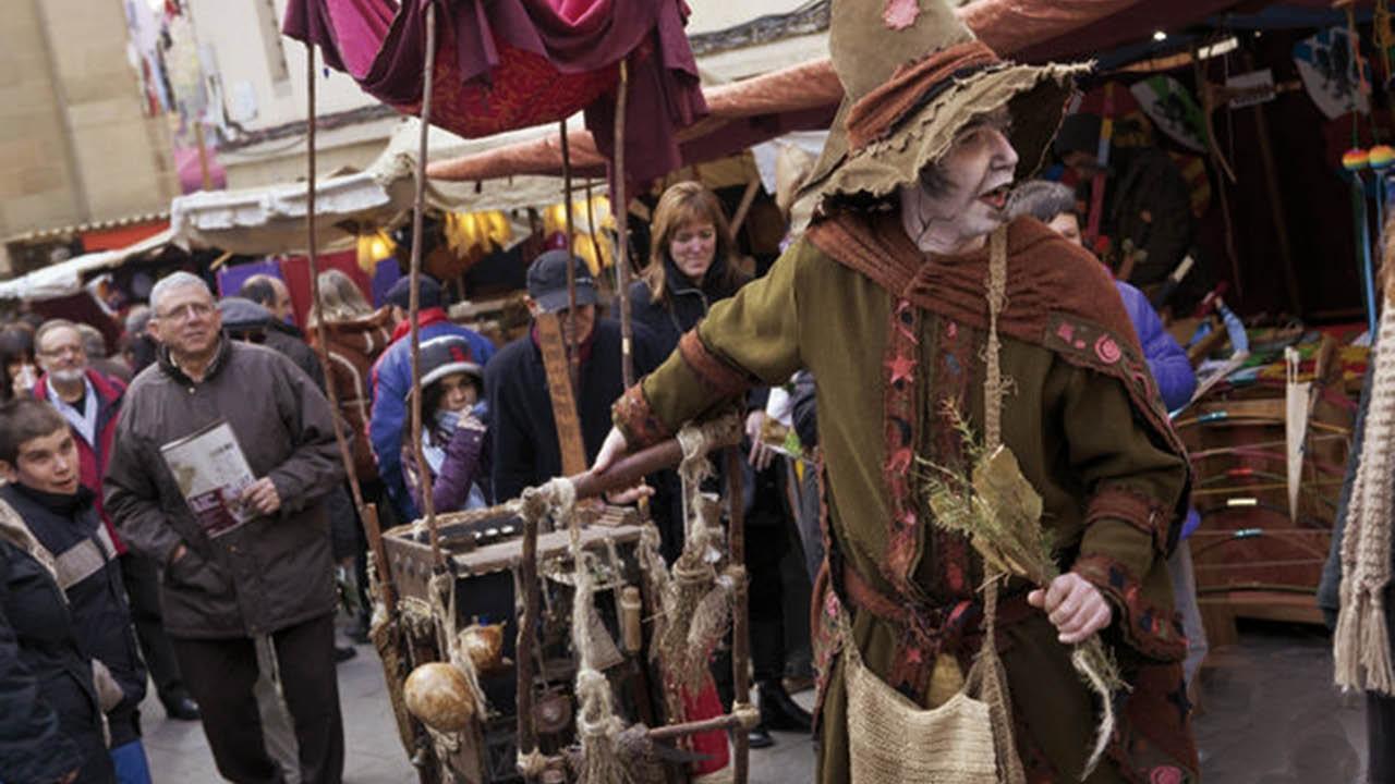 Mercat medieval de Vic. Vic. Nadal és Molt Més