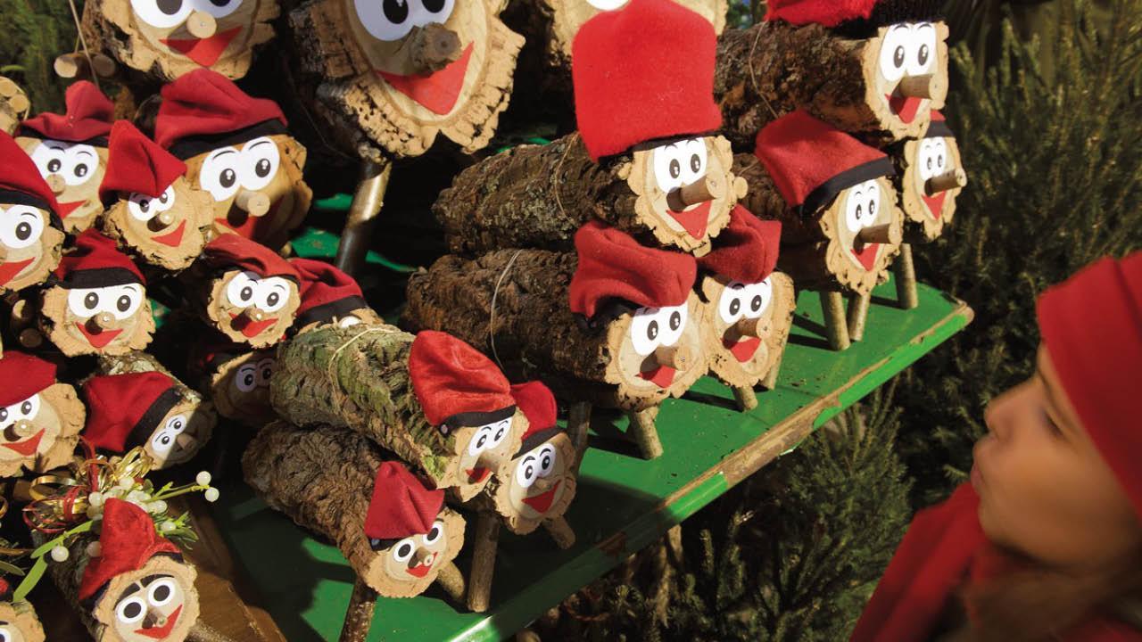 Fira de pessebres i ornaments de Nadal. Mataró. Nadal és Molt Més